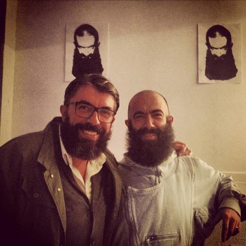 Albertiño y Carlos Díez