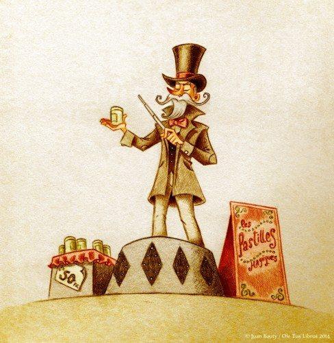 ilustracion para el principito - editorial Ole tus Libros - 2014 b