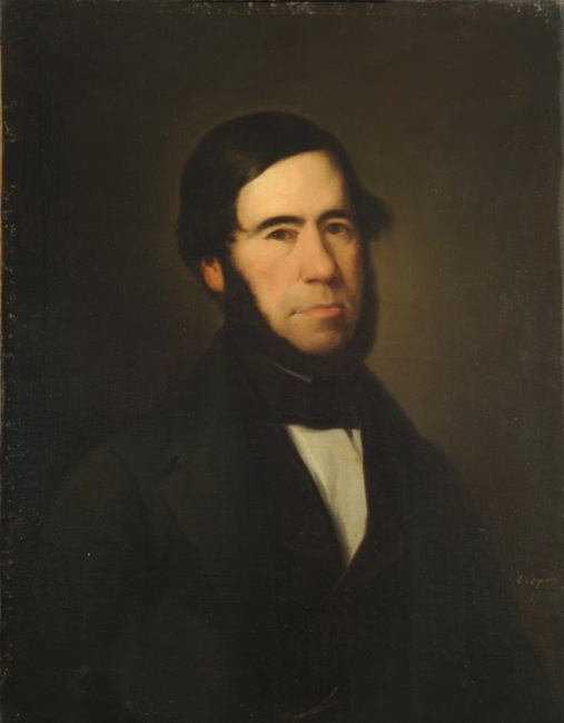 """""""Retrato de Don Manuel José de Guerrico""""-Las barbas del MNBA"""