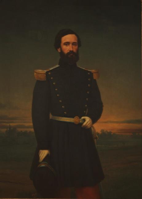 """""""Retrato de Don Alejandro Díaz""""-Las barbas del MNBA"""