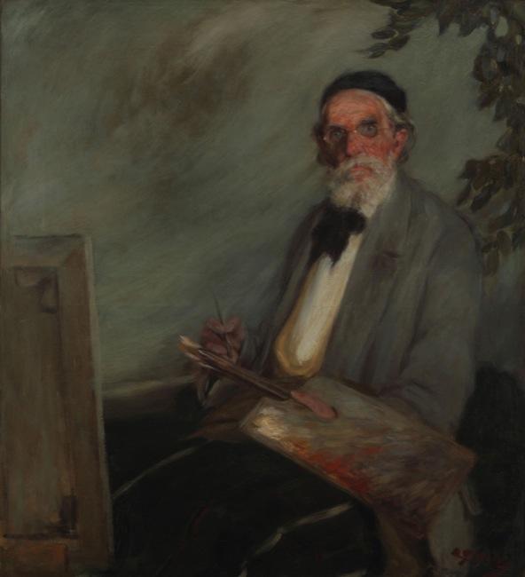 """""""Retrato del pintor Sivori""""-Las barbas del MNBA"""