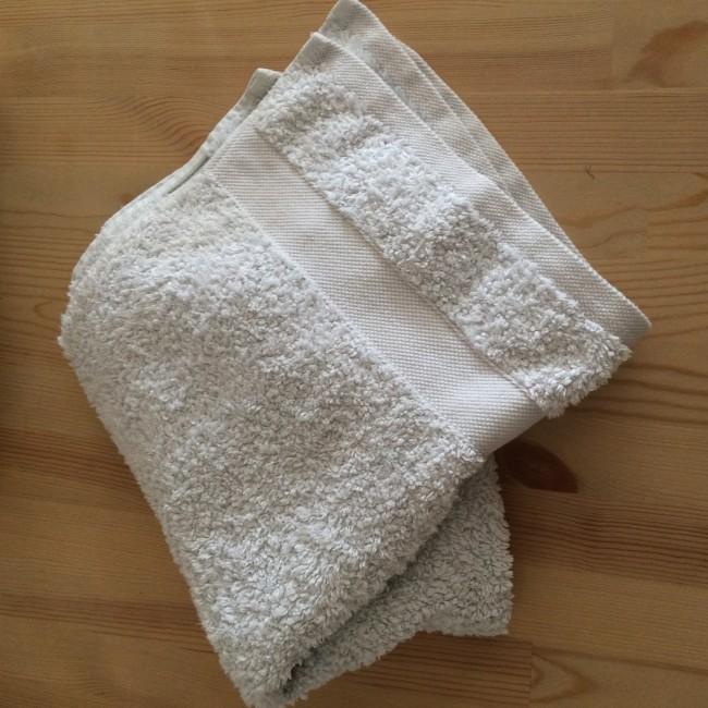 Cómo hacer en tu casa una toalla caliente