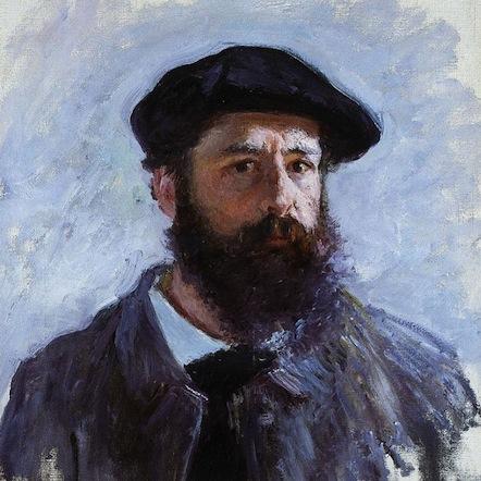 Claude Monet, Autorretrato (1886)