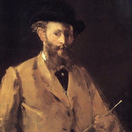 Édouard Manet, Autorretrato (1878-1879)