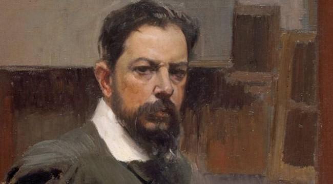 Joaquin Sorolla, Autorretrato (1904).