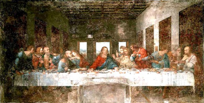 La última cena (1495-1497)