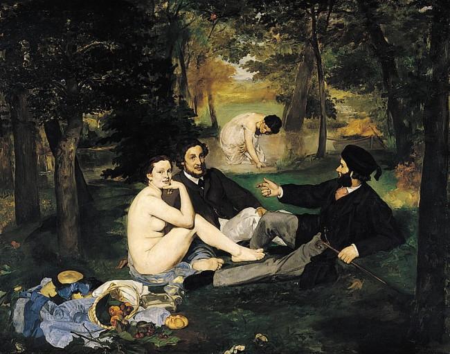 Le de?jeuner sur l'herbe (1863)