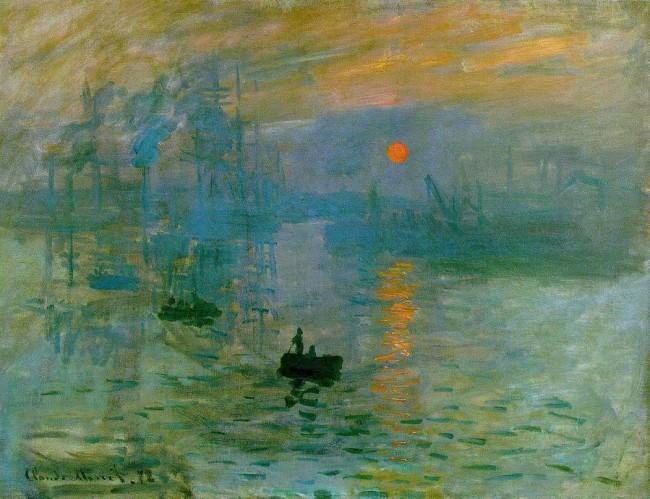 Impression, soleil levant (1873)