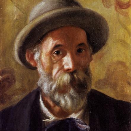 Pierre August Renoir, Autorretrato (1899)
