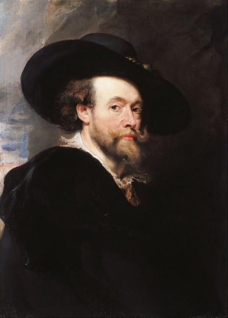 Peter Paul Rubens, Autorretrato (1623)