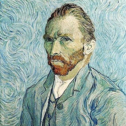 Vincent Van Gogh, Autorretrato (1889)