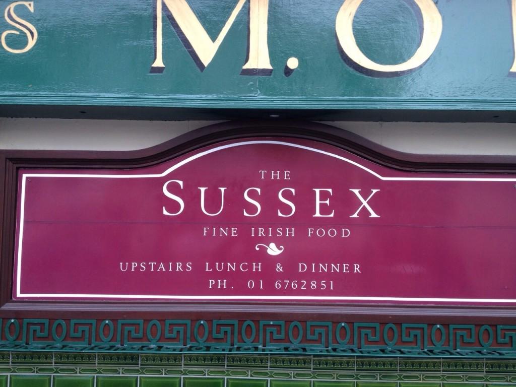 The Sussex Irish Food
