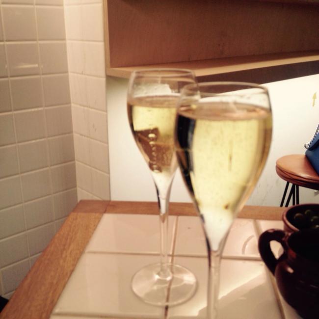 Bocadillo de jamón y champán II