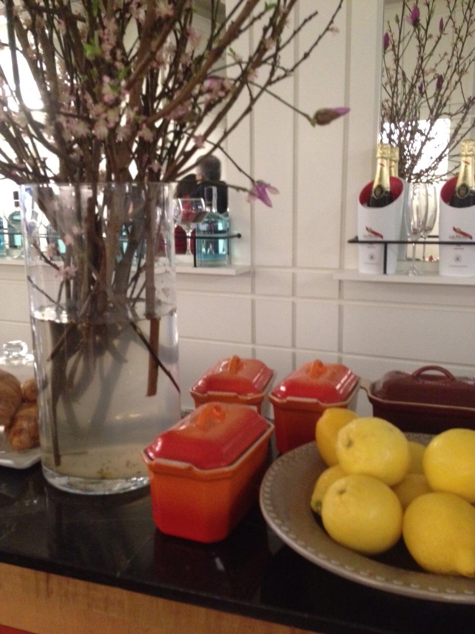 fruta y cocina