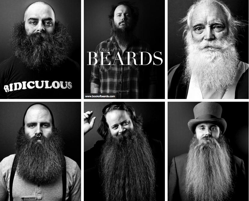 A book of beards, barbas y solidaridad II