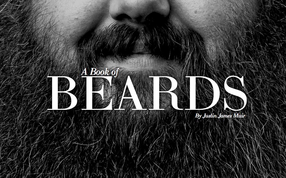 A book of beards, barbas y solidaridad