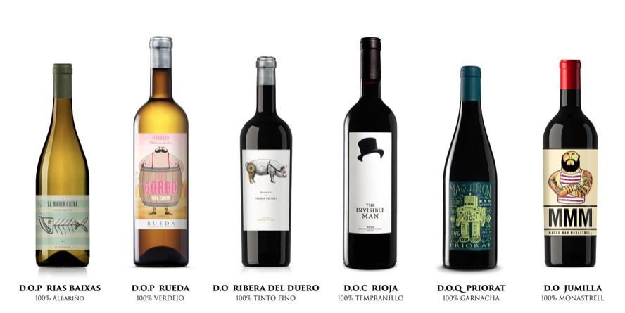 The Wine Gurus, la selección
