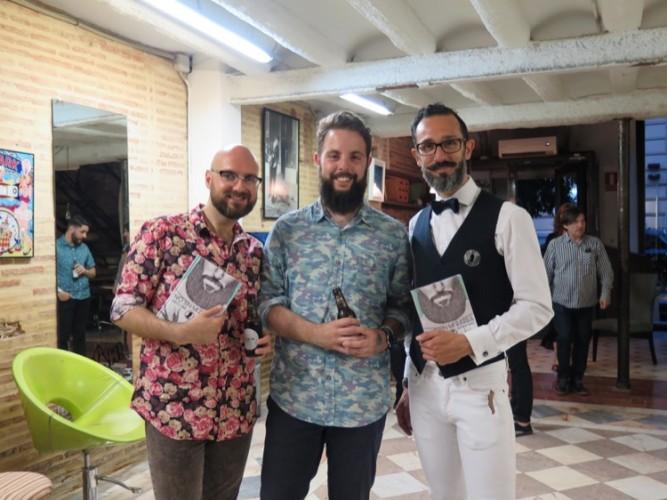 Presentación No sin mi barba en Valencia