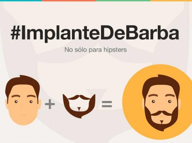 Implante de barba-No sin mi barba